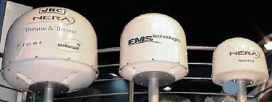 Судовые земные станции инмарсат-а находятся в серийной эксплуатации с 1982 года
